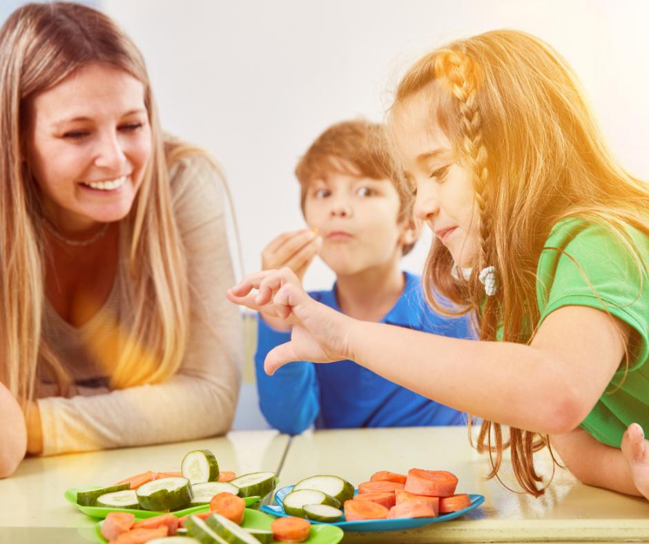 kids vegetables